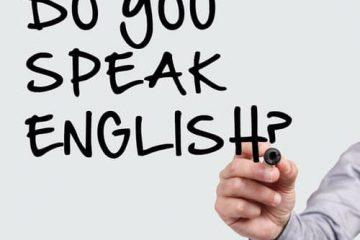 Почему Вы так и не заговорили на английском