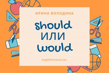 Should или Would